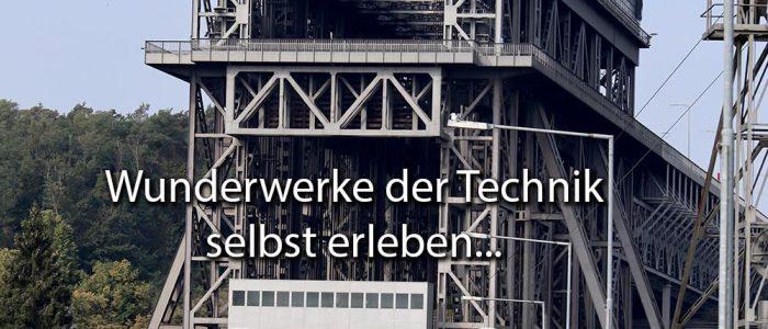 Technik, Bauwerk Hebewerk Schiffshebewerk Niederfinow